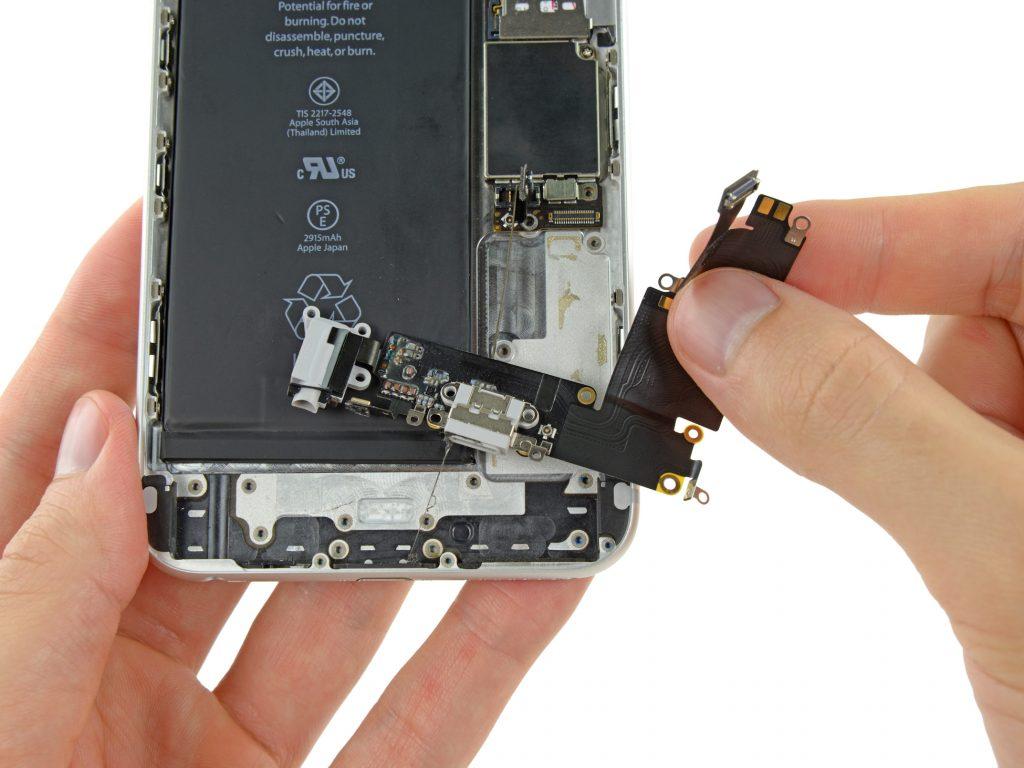 Výměna portu USB