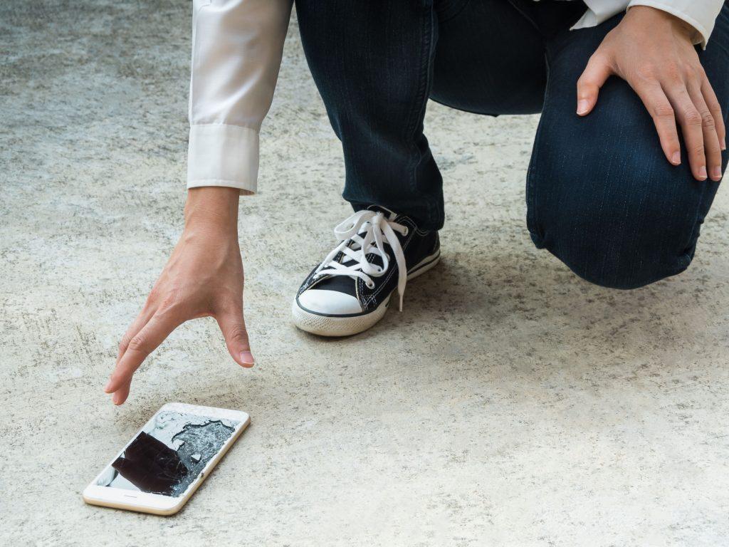 IPhone obrazovky