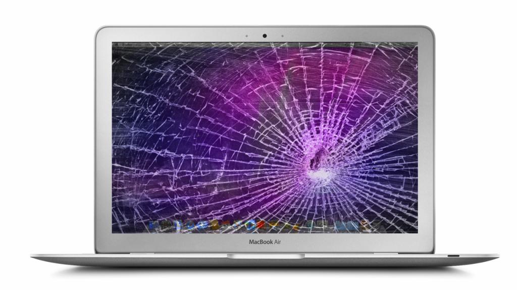 Výměna poškozené obrazovky